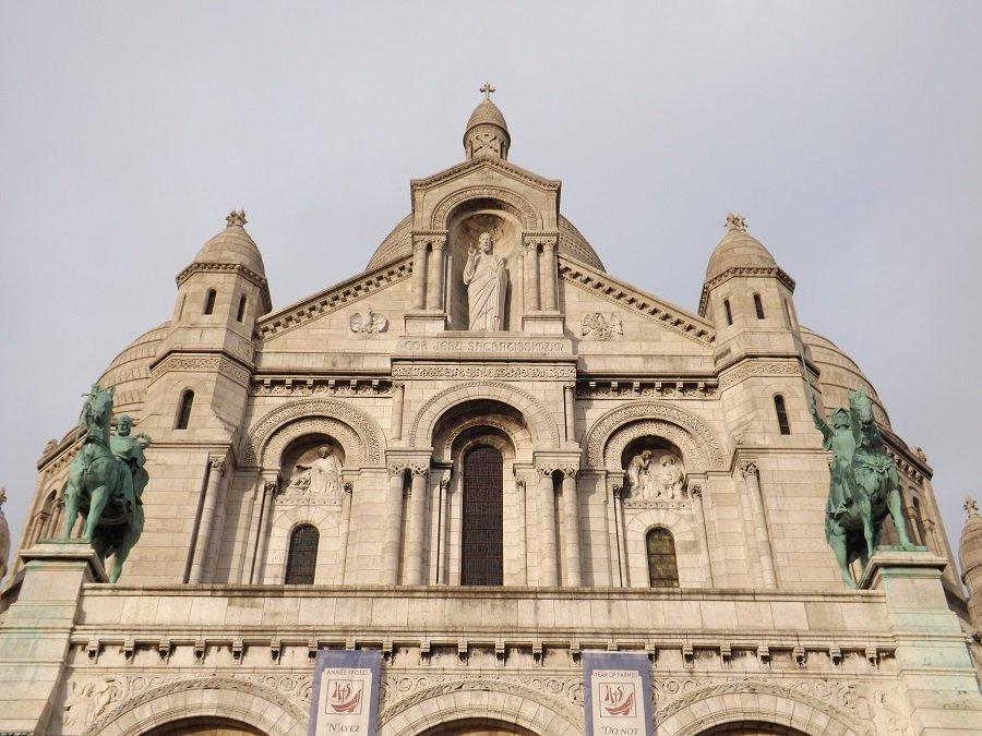 façade sacré coeur