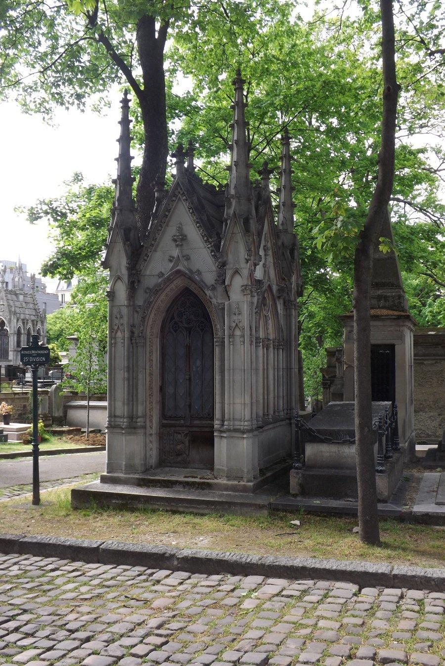 sépulture godard desmarets architecte château