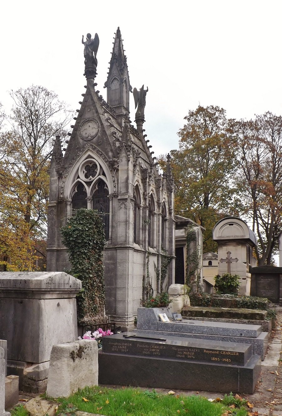 sépulture Lavalée 1850